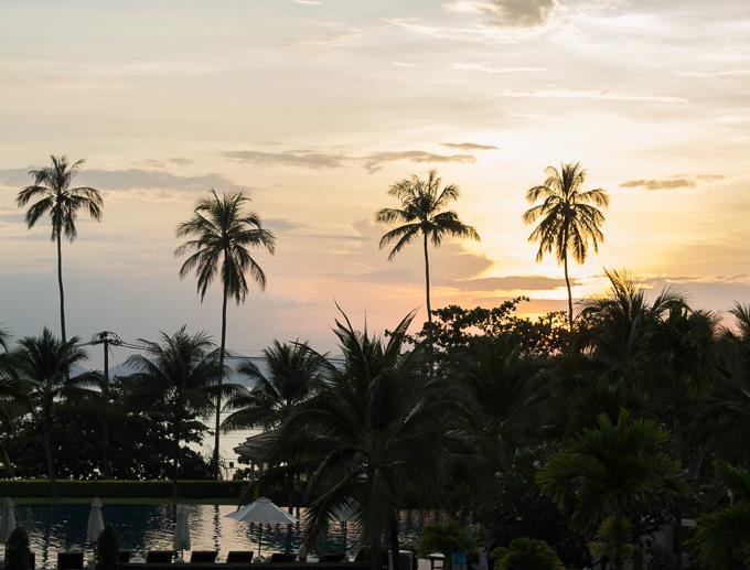 Sofitel Krabi Phokeethra Golf and Spa Resort lapsiystävällinen tasokas hotelli suositus thaimaa