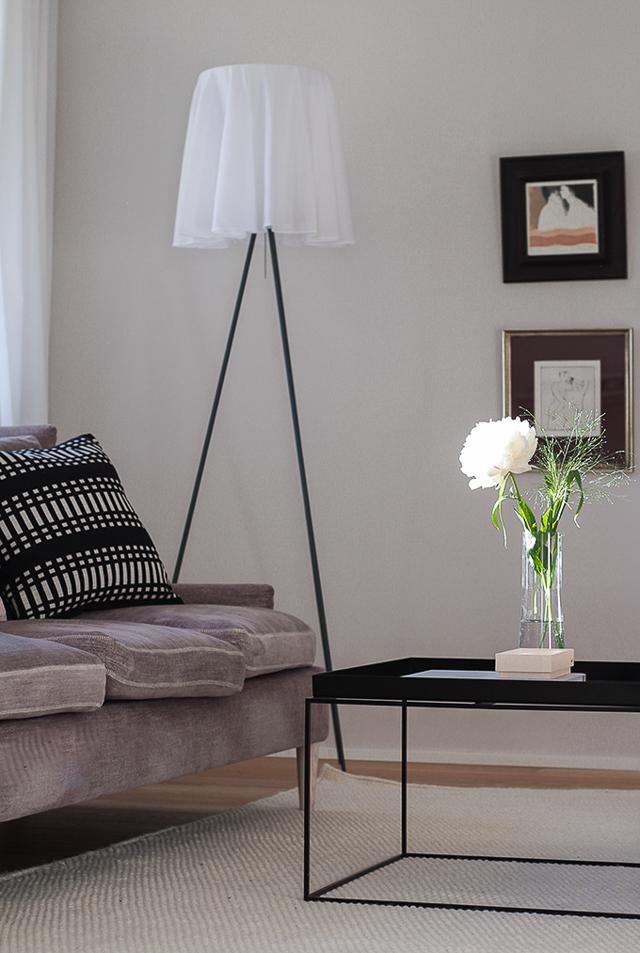 Coffee Table Diary Farrow & Ball skimming stone Linie Design Asko-matto