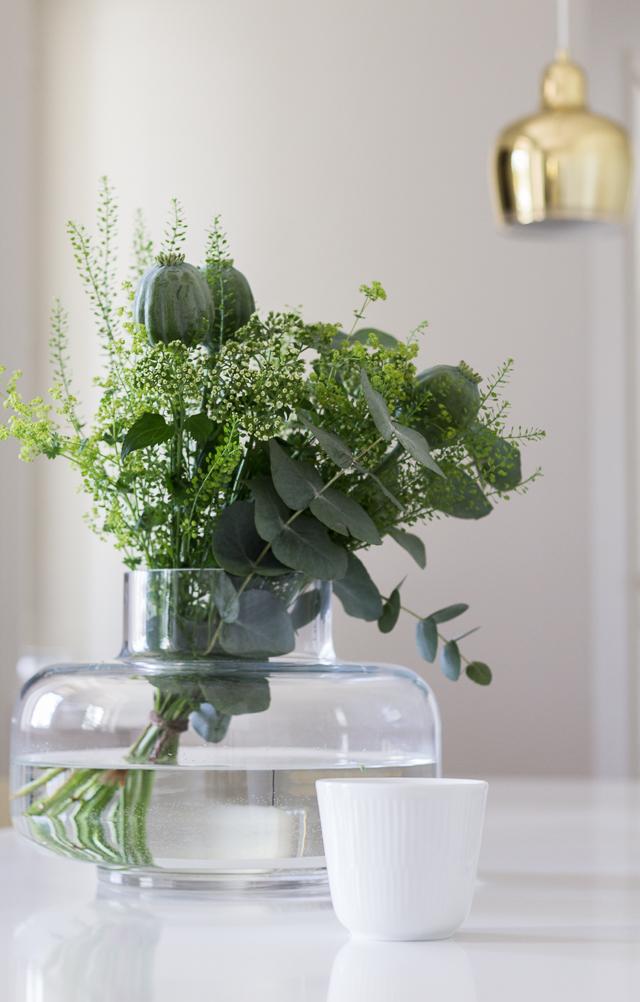 Green bouquet Marimekko Urna-9