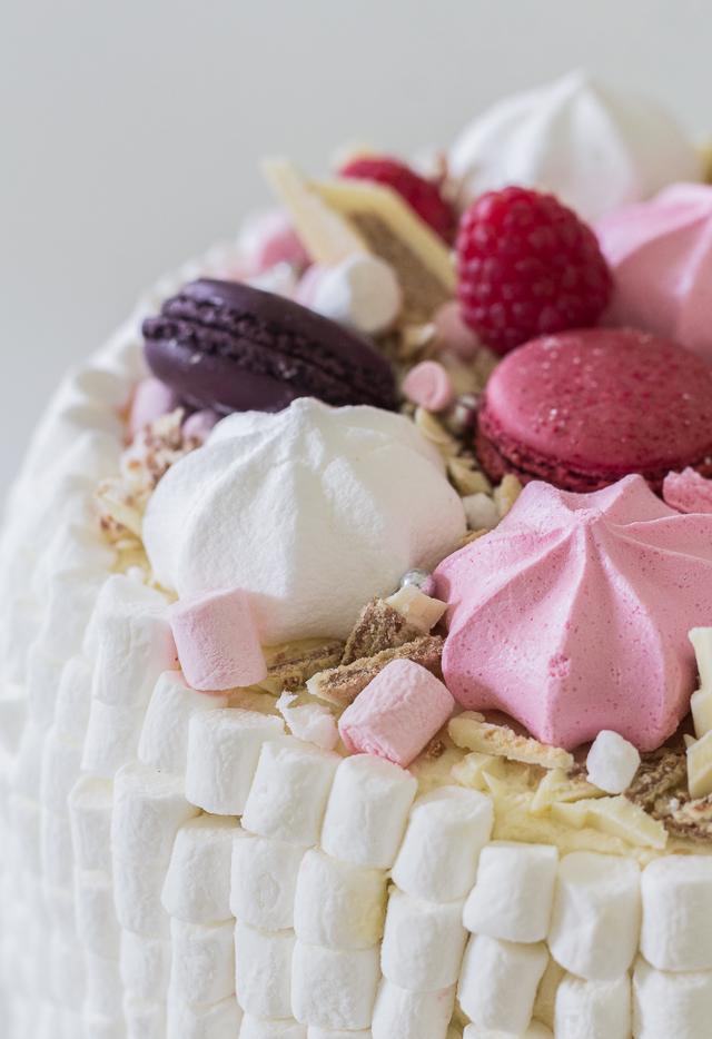 Bday cake little girl-5