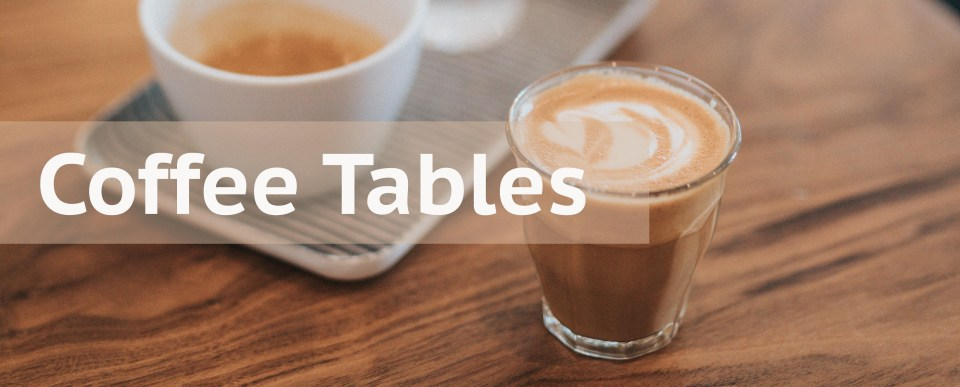 Coffee Tables Header