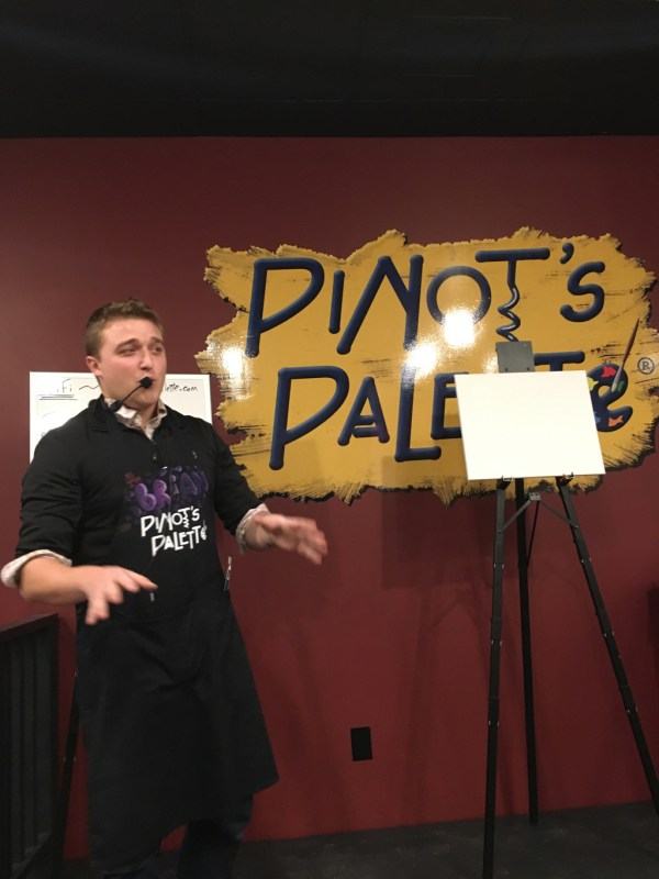 Pinot's Palette Princeton Instructor Brian