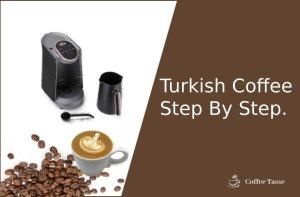 Turkish Coffee Step By Step