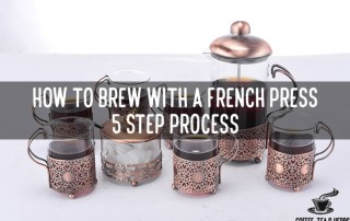How to Brew With a French Press - 5 Step Process