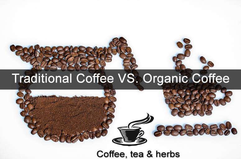 Traditional Coffee VS. Organic Coffee
