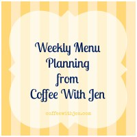 Meal Planning: Week of January 12th-18th, 2014