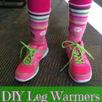 No Sew DIY Leg Warmers