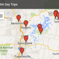 Announcing Interactive Day Trip Map