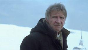 Han in snow