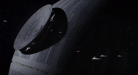 Death Star Construction Rogue One