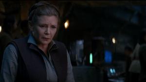 leia feels Han passing
