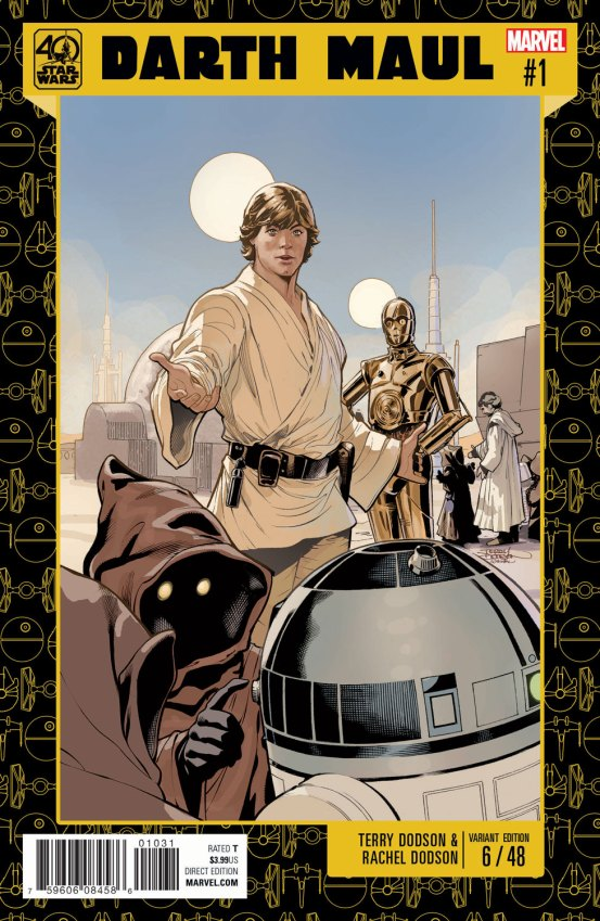 Star Wars 40th Anniversary Variant by TERRY DODSON (DEC161074)