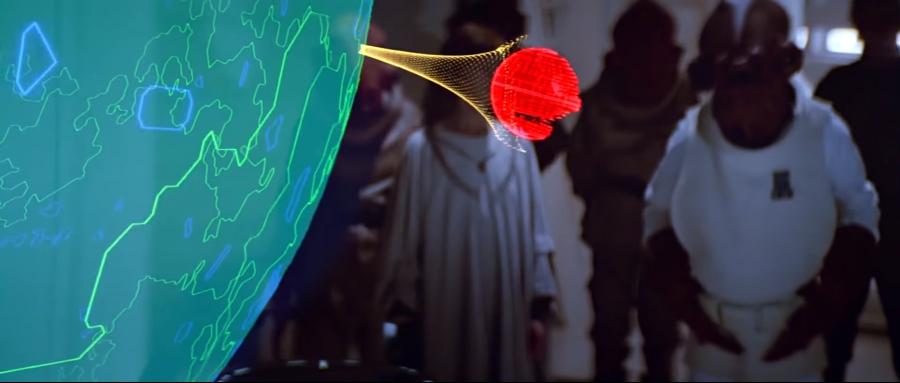 Death Star Briefing Room - Hologram