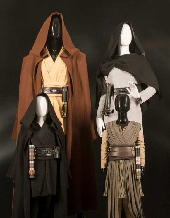At Black Spire Outfitters inside Star Wars: Galaxy's Edge at Disneyland Park in Anaheim, California, and at Disney's Hollywood Studios in Lake Buena Vista, Florida, guests will be able to mix and match clothing to create their own galactic style. (David Roark/ Disney Parks)