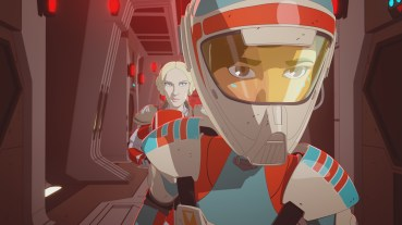 "STAR WARS RESISTANCE - ""Bibo"" - Neeku adopts a strange sea creature and gets way more than he bargained for when it brings chaos to the platform. This episode of ""Star Wars Resistance"" airs Sunday, Jan. 13 (10:00 - 10:30 P.M. EST) on Disney Channel. (Disney Channel) FREYA, TORRA"
