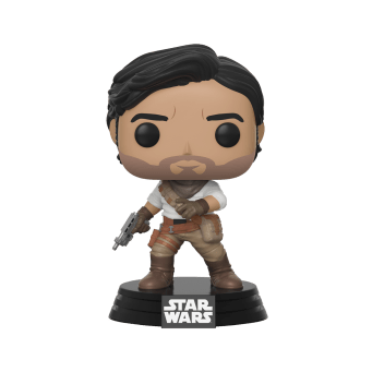 Poe Dameron Pop! Vinyl - $9.99 Alliance born and raised, hotshot pilot Poe Dameron pulls crazy stunts on the battlefield and in the cockpit of an X-wing. Available October 4