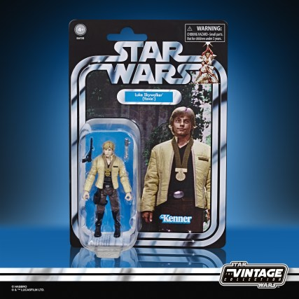 STAR WARS THE VINTAGE COLLECTION EPISODE IV A NEW HOPE 3.75-INCH LUKE SKYWALKER (YAVIN CEREMONY) Figure - in pck