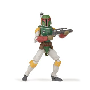 STAR WARS GALAXY OF ADVENTURES 5-INCH BOBA FETT Figure oop (1) copy