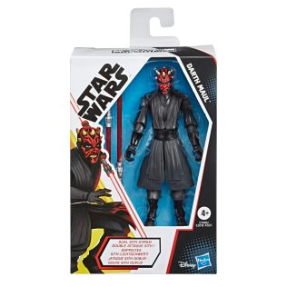 STAR WARS GALAXY OF ADVENTURES 5-INCH DARTH MAUL Figure in pck copy