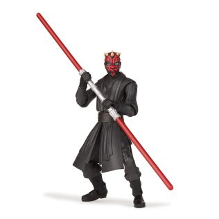 STAR WARS GALAXY OF ADVENTURES 5-INCH DARTH MAUL Figure oop (2) copy