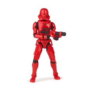 STAR WARS GALAXY OF ADVENTURES 5-INCH SITH JET TROOPER Figure oop (3) copy