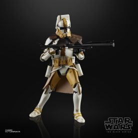 STAR WARS THE BLACK SERIES 6-INCH CLONE COMMANDER BLY Figure oop (2)
