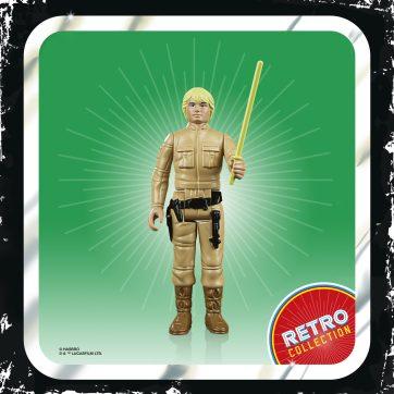 STAR WARS RETRO COLLECTION 3.75-INCH Figure - Luke Skywalker (2)