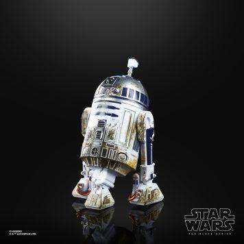 STAR WARS THE BLACK SERIES 40TH ANNIVERSARY 6-INCH R2-D2 (DAGOBAH) - oop (1)