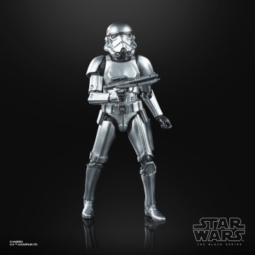STAR WARS THE BLACK SERIES CARBONIZED COLLECTION 6-INCH STORMTROOPER Figure - oop (1)