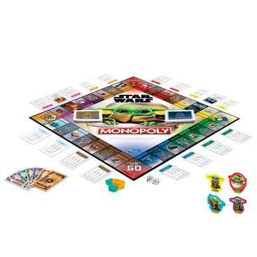 MONOPOLY STAR WARS THE CHILD EDITION - oop (1) copy