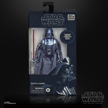 STAR WARS THE BLACK SERIES CARBONIZED COLLECTION 6-INCH DARTH VADER Figure - in pck