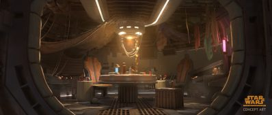 Cantina Interior - Star Wars Tales from the Galaxy's Edge (Logo)
