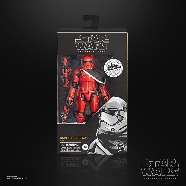 STAR WARS THE BLACK SERIES 6-INCH CAPTAIN CARDINAL Figure - in pck