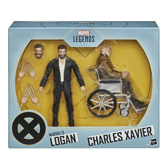 Marvel Legends Series 6-Inch X-Men Marvel s Logan & Charles Xavier Figure 2-Pack - in pck