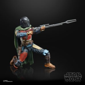 Star Wars: The Black Series Credit Collection 6-Inch The Mandalorian Figure MSRP: $24.99 Available: Pre-order 9/21 Retailer: Amazon Description: Fans and collectors can imagine scenes from the Disney Plus series THE MANDALORIAN with this premium STAR WARS: THE BLACK SERIES CREDIT COLLECTION 6-INCH THE MANDALORIAN Figure. The Mandalorian is battle-worn and tight-lipped, a formidable bounty hunter in an increasingly dangerous galaxy. As part of the STAR WARS: THE BLACK SERIES CREDIT COLLECTION this figure features multiple points of articulation, premium deco, a collectible Imperial Credit accessory, and packaging that has been treated with a weathered look inspired by the end credit images from THE MANDALORIAN, making this a great addition to any STAR WARS collection. Includes figure, 2 accessories, and Imperial Credit. Available for pre-order at Amazon.