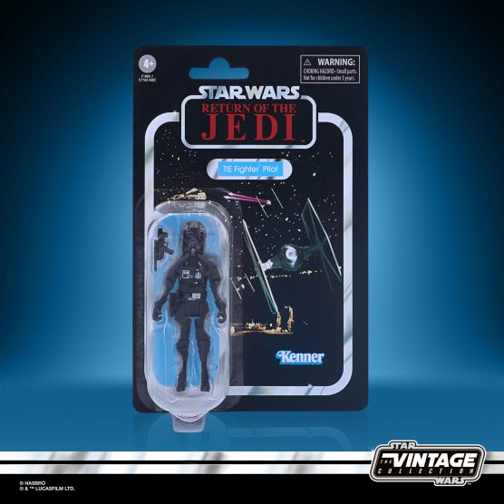 STAR WARS THE VINTAGE COLLECTION 3.75-INCH TIE FIGHTER PILOT Figure - in pck