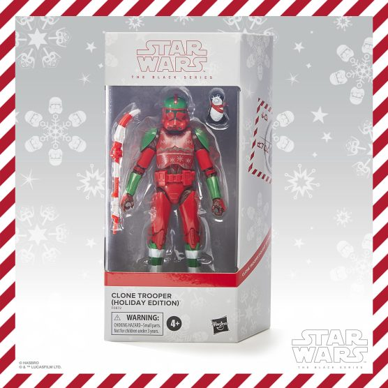 TBS HOLIDAY CLONE TROOPER - in pck