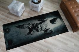 Star Wars Han Solo in Carbonite Area Rug | 39 x 91 Inches