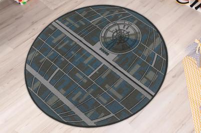 Star Wars Death Star 52-Inch Round Area Rug