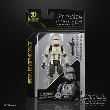STAR WARS THE BLACK SERIES ARCHIVE 6-INCH IMPERIAL HOVERTANK DRIVER Figure - in pck (1)