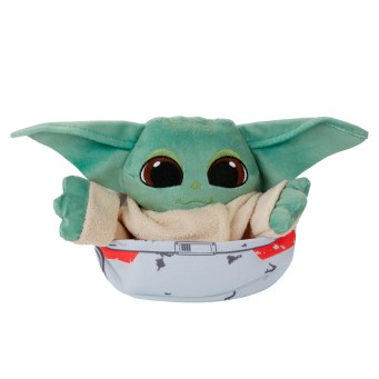 STAR WARS THE BOUNTY COLLECTION THE CHILD HIDEAWAY HOVER-PRAM PLUSH - oop (7)