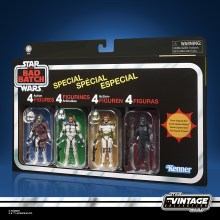 STAR WARS THE VINTAGE COLLECTION STAR WARS THE BAD BATCH Figure 4-Pack - in pck (3)