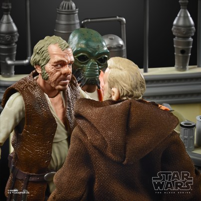 STAR WARS THE BLACK SERIES THE POWER OF THE FORCE CANTINA SHOWDOWN Playset - oop (15)
