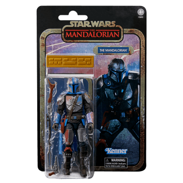 STAR WARS THE BLACK SERIES CREDIT COLLECTION 6-INCH THE MANDALORIAN Figure_in pck 2