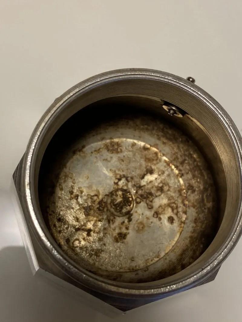 Bialetti Moka pot inside look