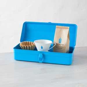 BLUE BOTTLE COFFEE TOOL BOX DRIP SET ブルーボトルコーヒー ツールボックス ドリップセット Blue/Light Gray