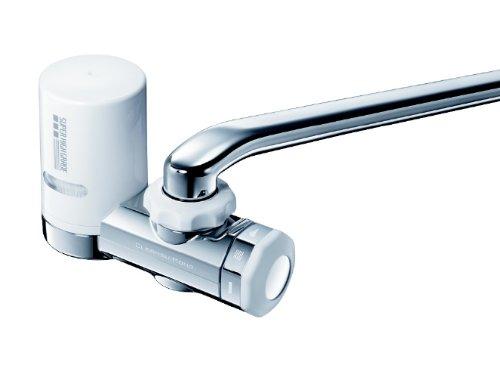 三菱ケミカル・クリンスイ 蛇口直結型浄水器 蛇口と一体型はこんな感じ。