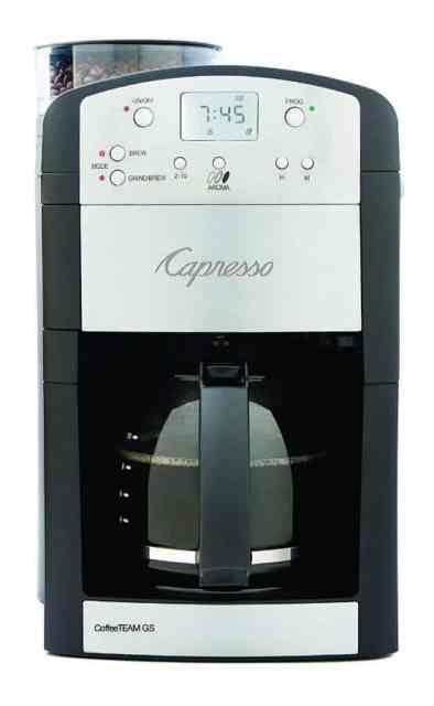 Capresso 464.05 Coffee Team 2018