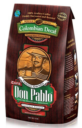 colombian decaff cafe don pablo best french press coffee beans