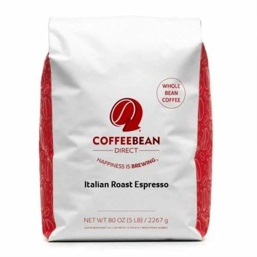 Coffee Bean Direct Italian Roast Espresso best coffee beans for espresso a review